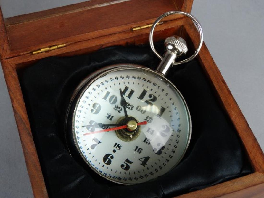 Clock in Display Case