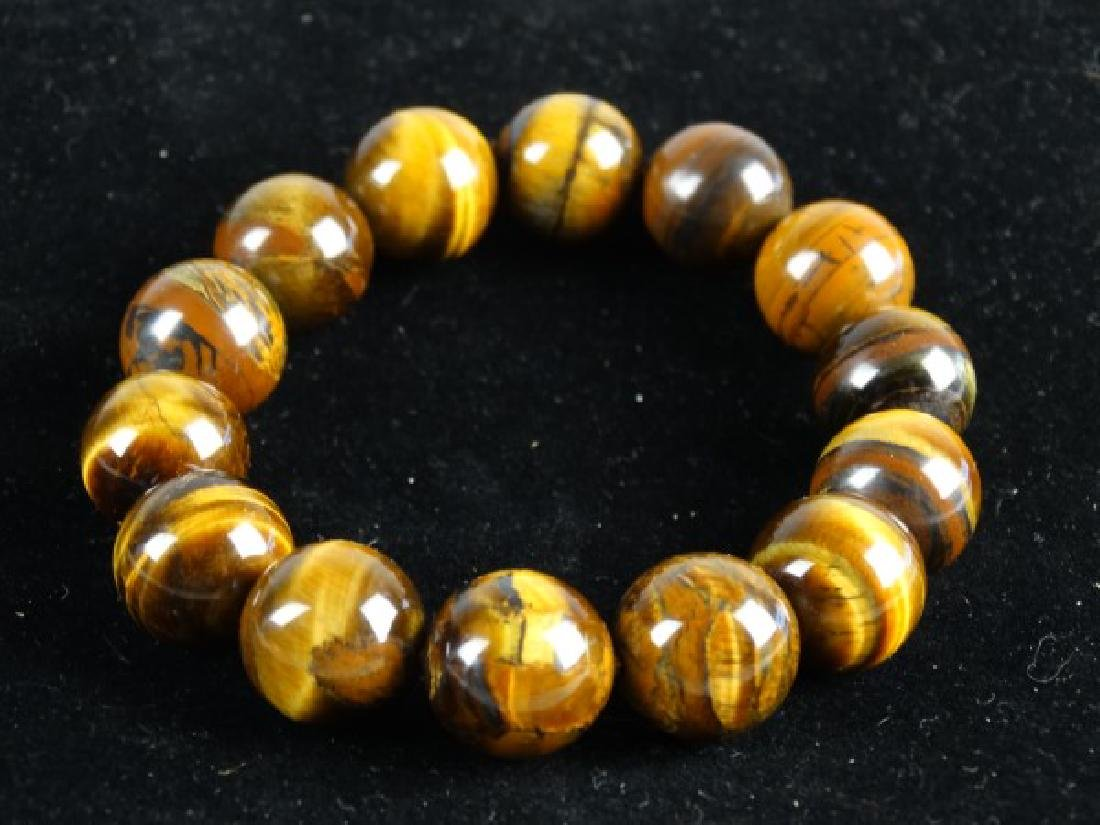 Tiger's Eye Stretch Bracelet