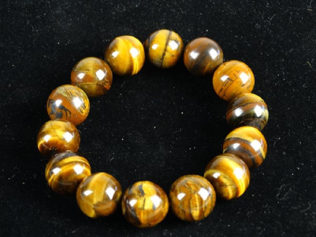 Tiger's Eye Stretch Bracelet - 2
