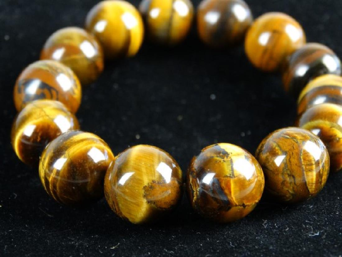Tiger's Eye Stretch Bracelet - 3
