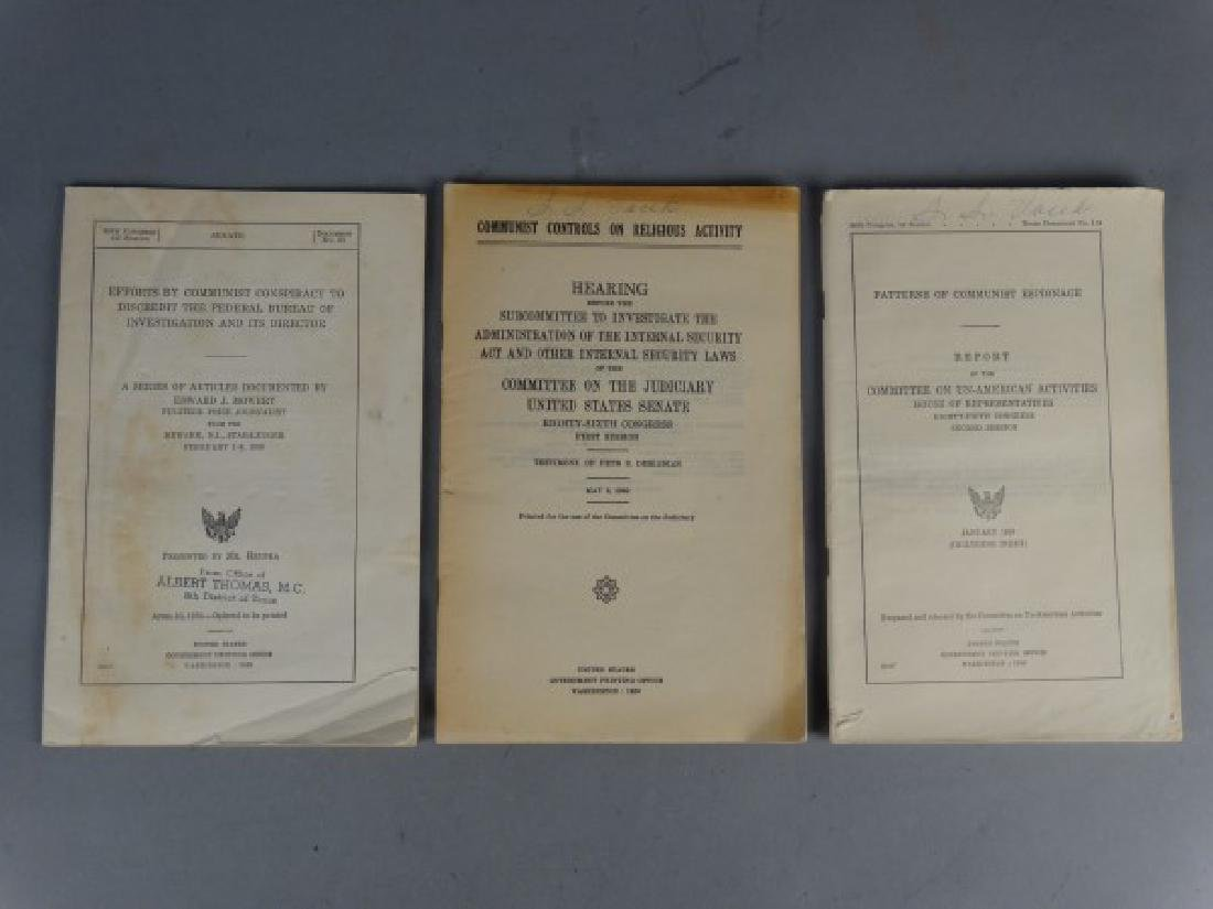 Grouping of 3 Anti-Communist Pamphlets