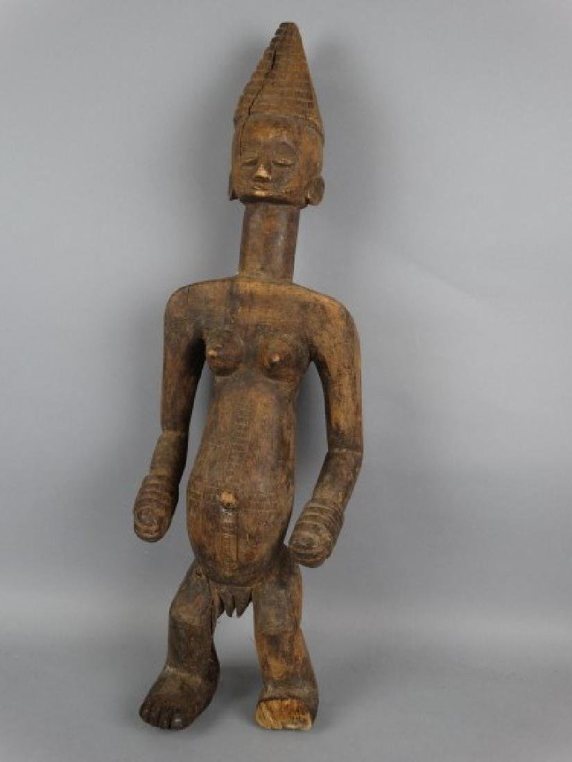 Large Carved African Figure