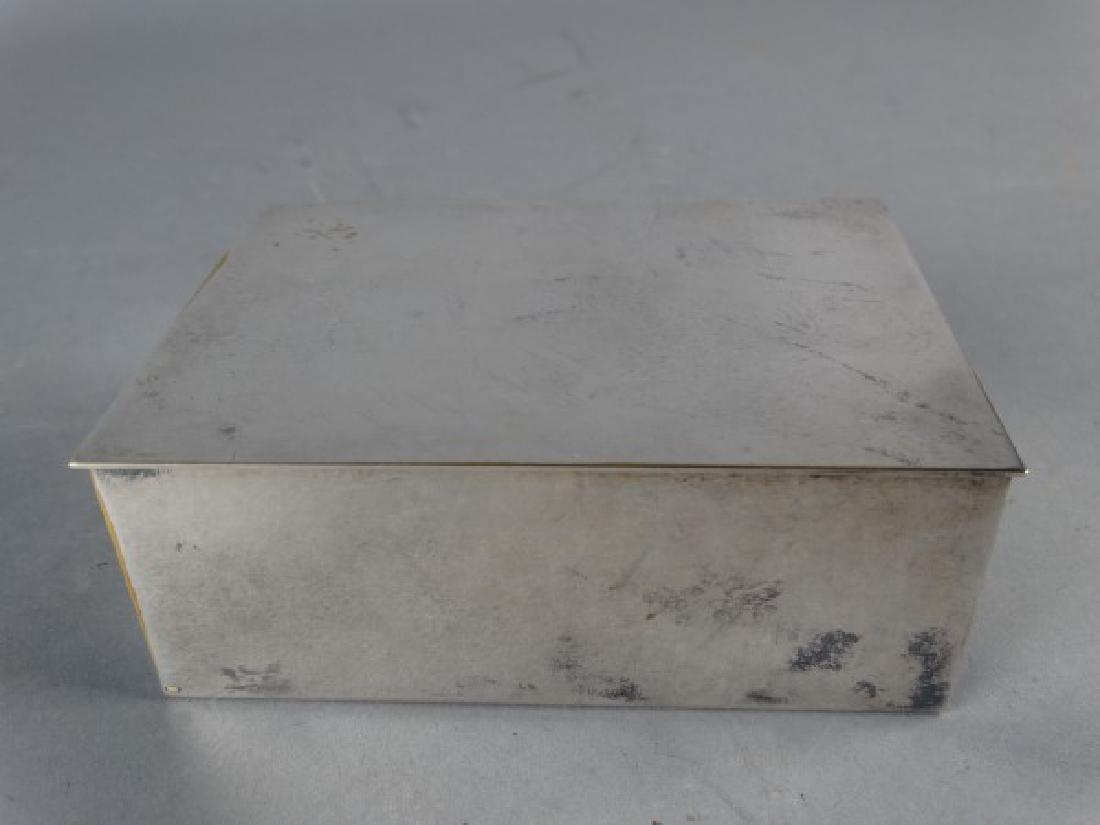 Tiffany & Co Silverplate Cigarette Box