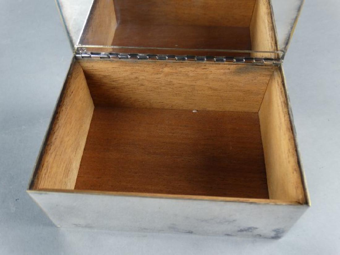 Tiffany & Co Silverplate Cigarette Box - 3