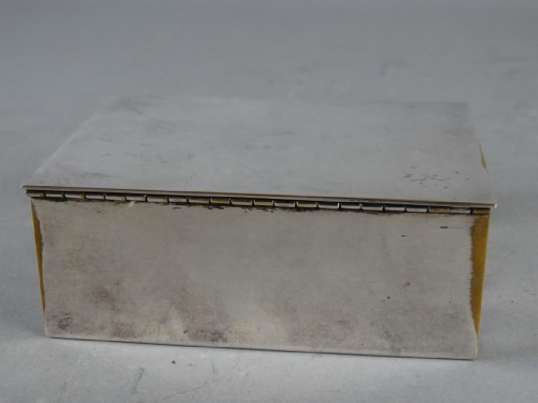 Tiffany & Co Silverplate Cigarette Box - 5
