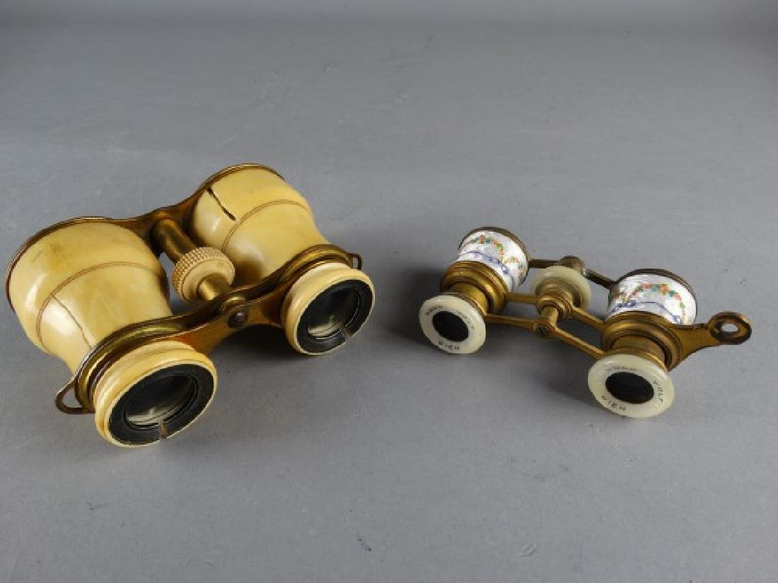 Lot of Two Antique Opera Glasses