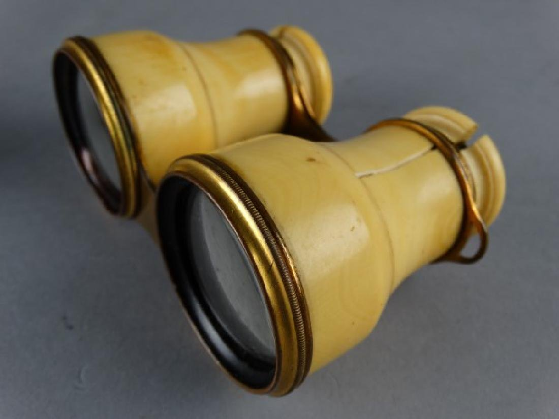 Lot of Two Antique Opera Glasses - 5