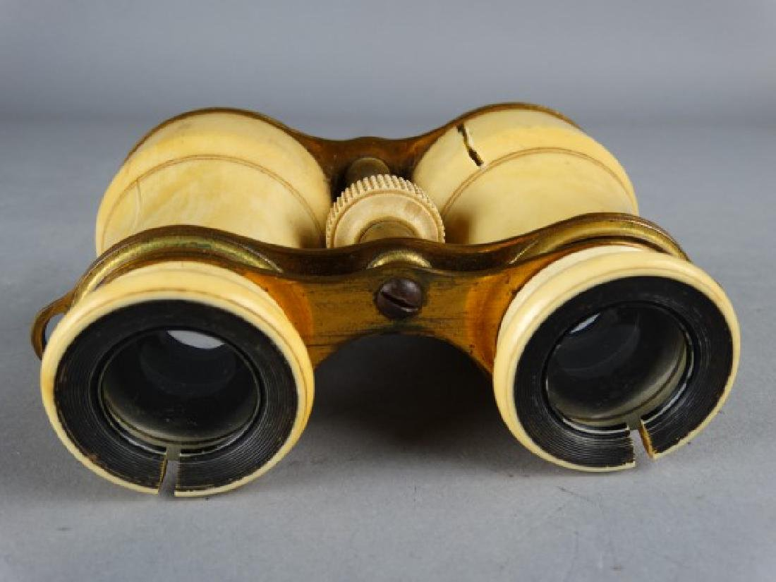 Lot of Two Antique Opera Glasses - 6