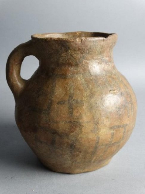 Archaic Pottery Vessel