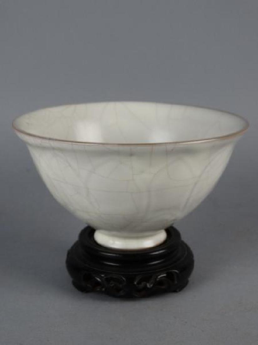 Chinese Crackle Glazed Bowl