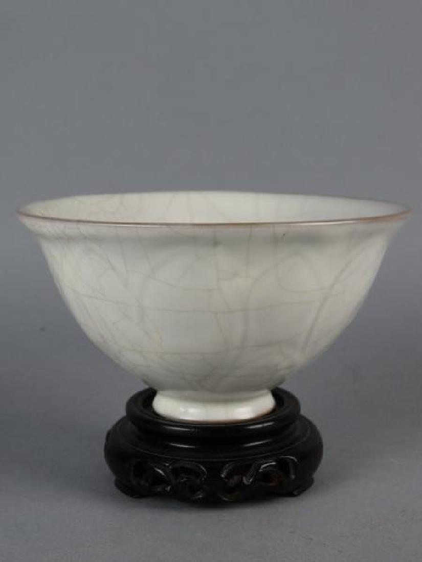 Chinese Crackle Glazed Bowl - 2