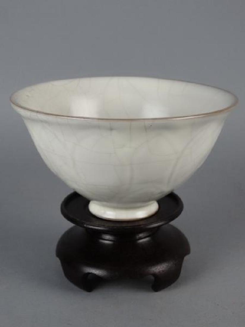 Chinese Crackle Glazed Bowl - 3