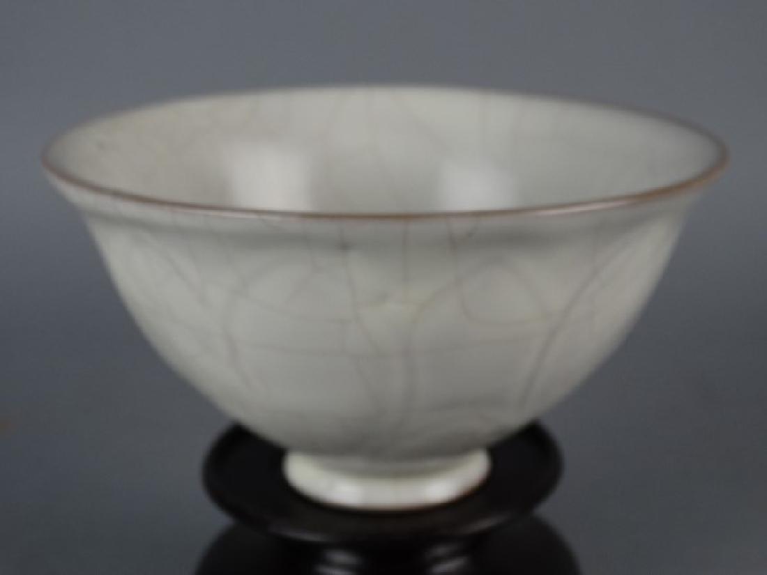 Chinese Crackle Glazed Bowl - 4
