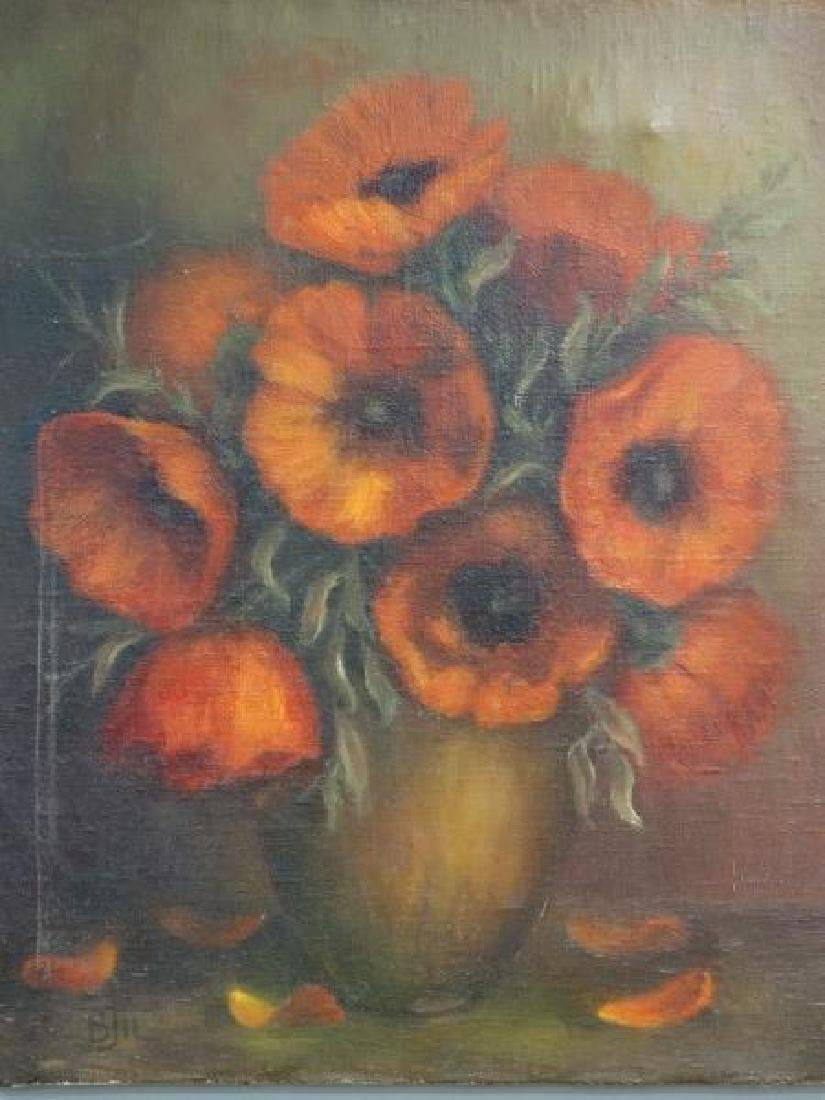 V. TORGASHOV : Oil on Canvas Painting - Still Life