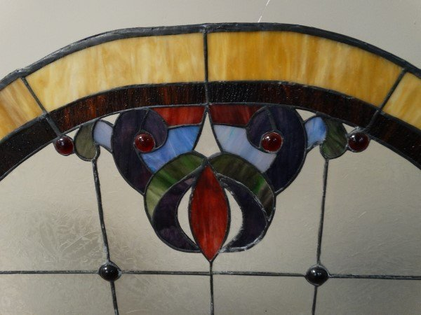 Stained Glass Fire Screen - 4