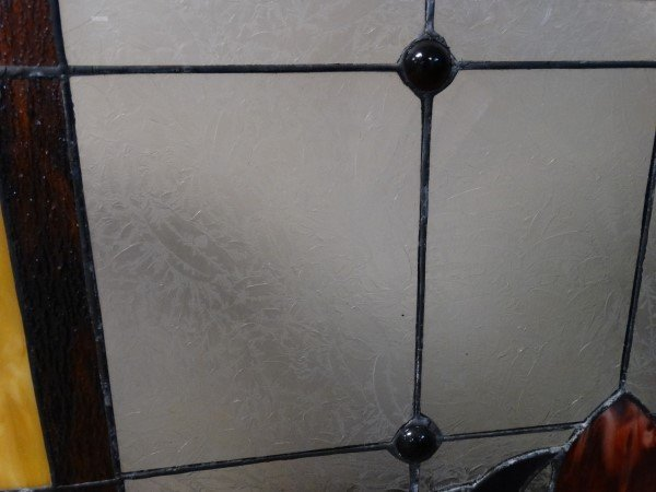 Stained Glass Fire Screen - 5