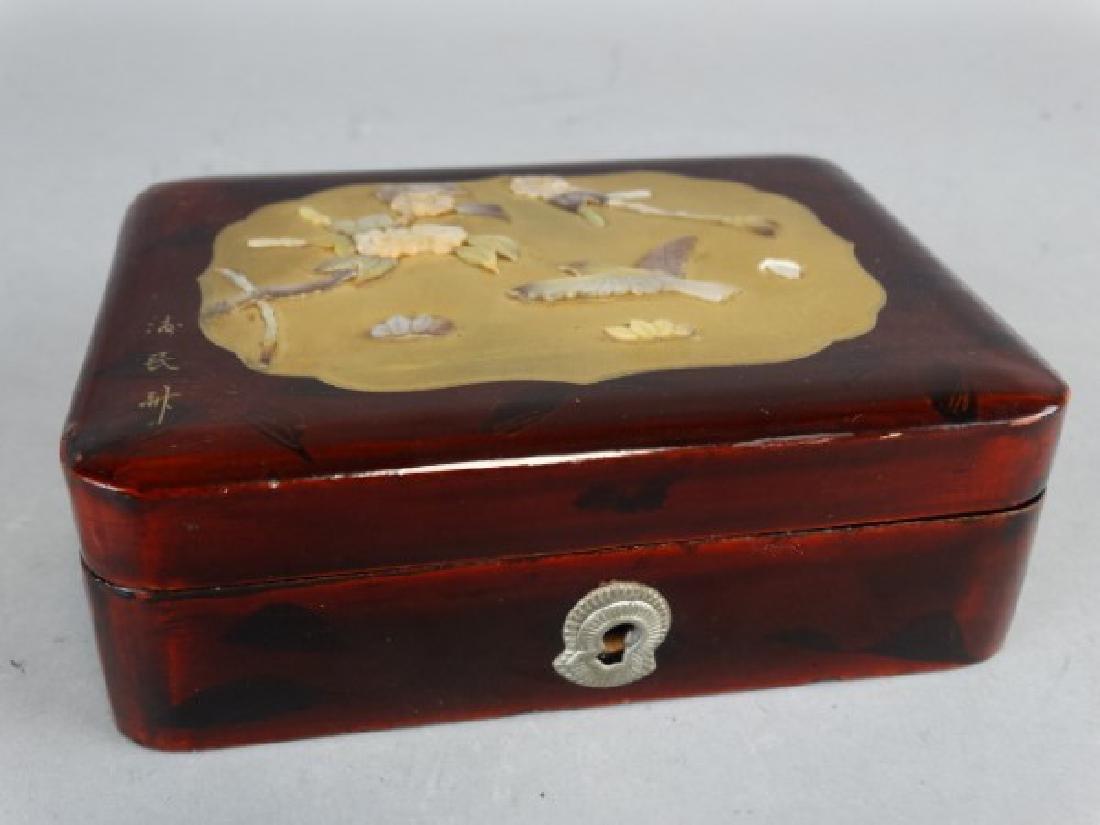 Japanese Shibayama Box - 2