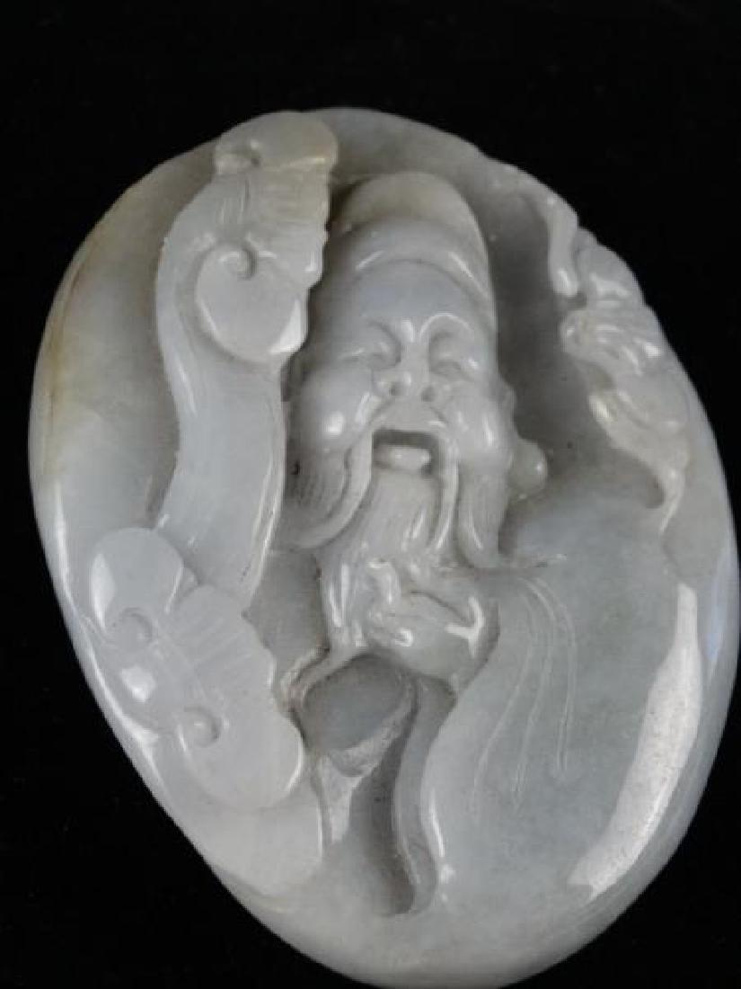 Highly Carved Jade Piece - Buddha - 2