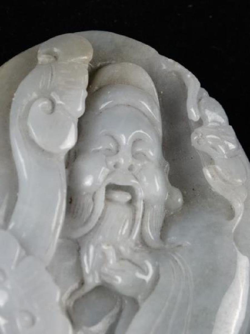 Highly Carved Jade Piece - Buddha - 3