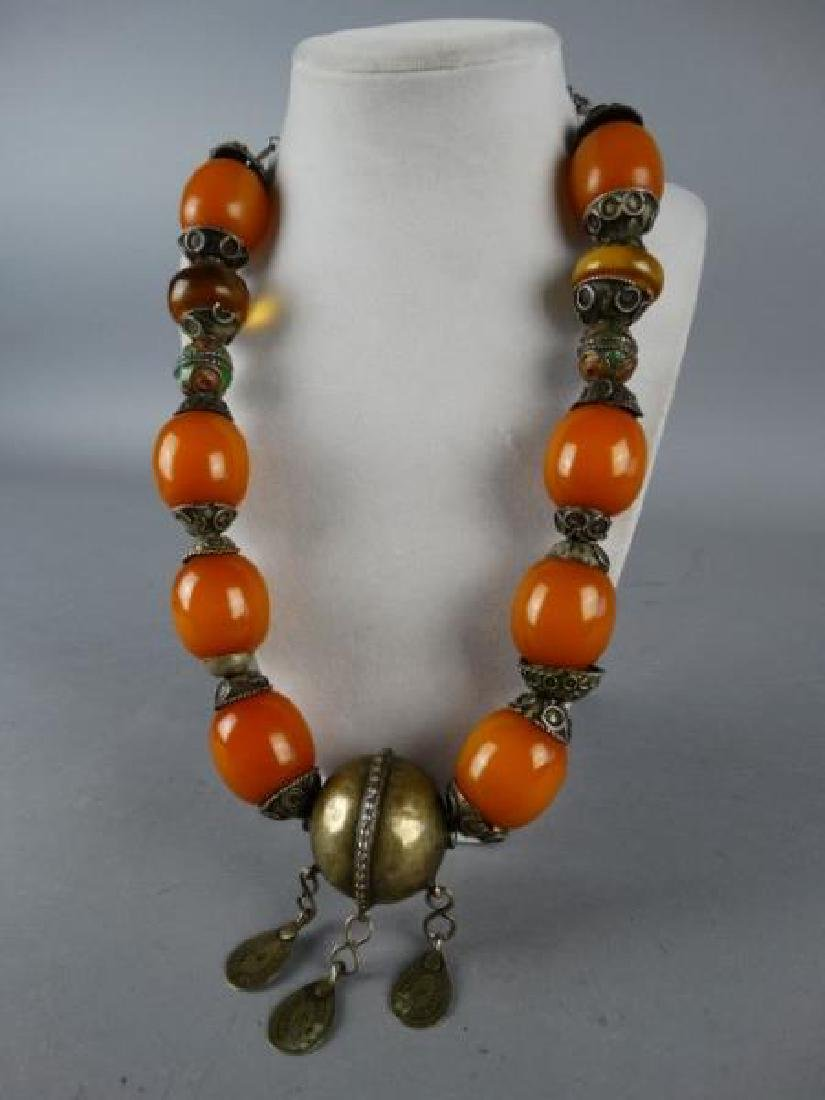 Large Indo-Tibetan Necklace - 2