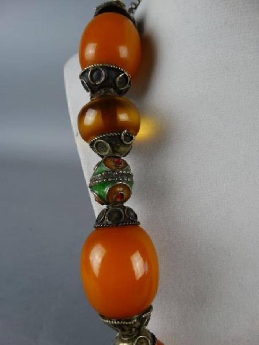 Large Indo-Tibetan Necklace - 3