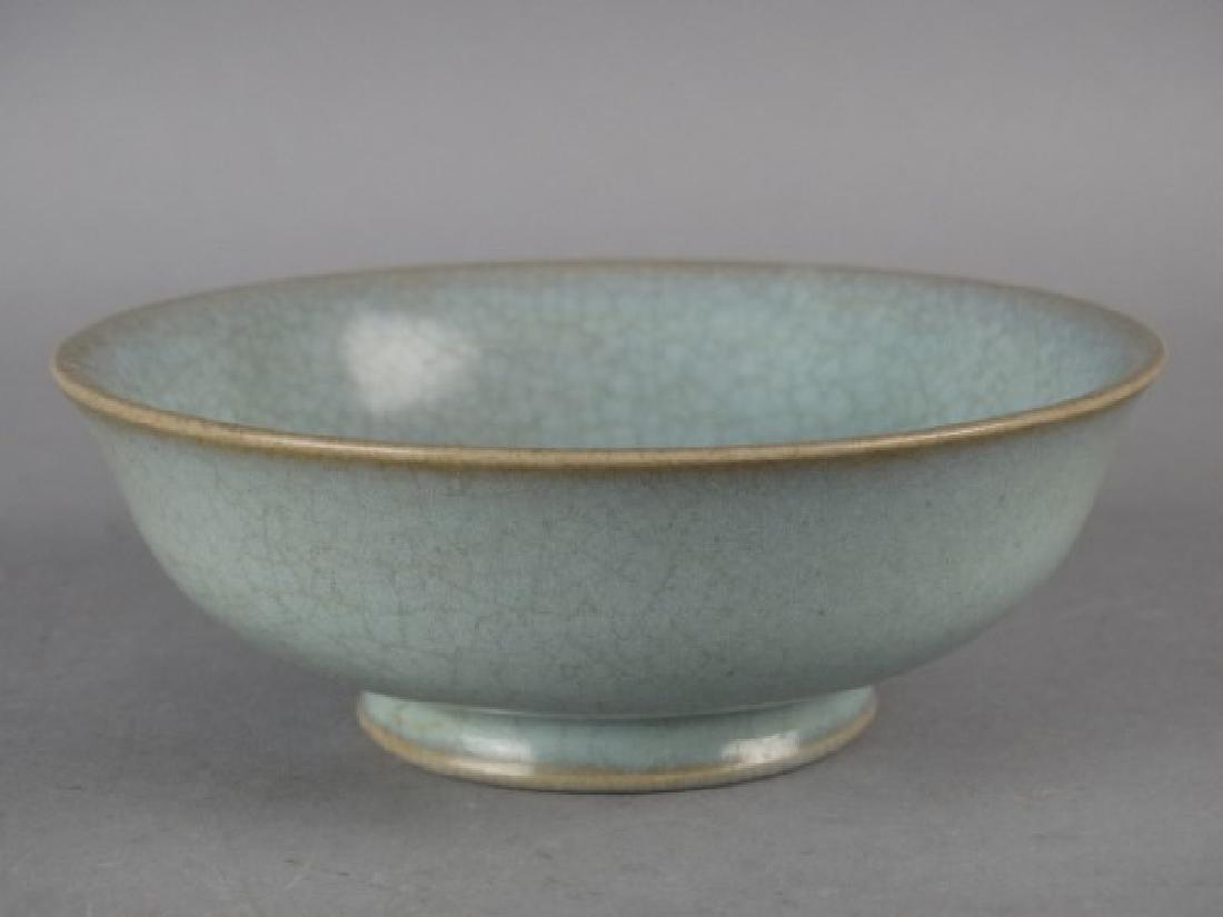 Chinese Crackleware Bowl