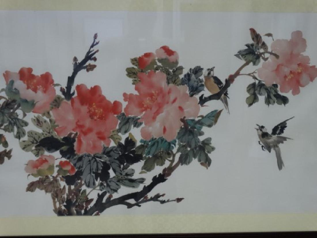 Framed Chinese Print - Flowers - 3