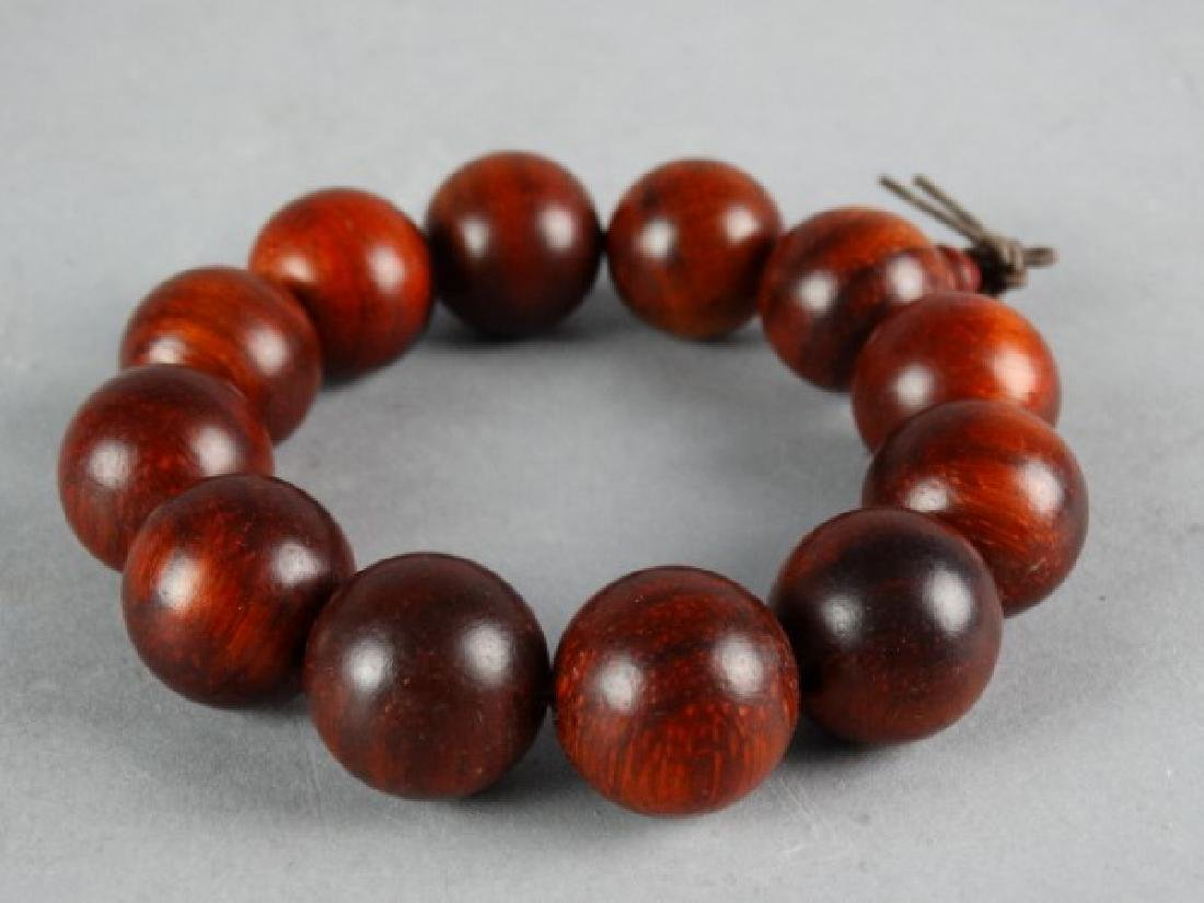 Carved Wood Bracelet
