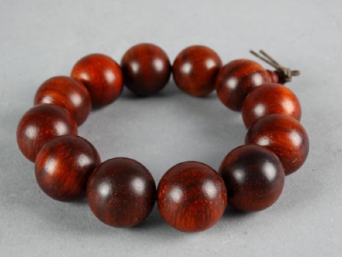Carved Wood Bracelet