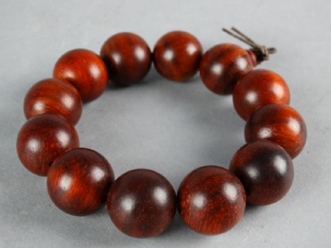 Carved Wood Bracelet - 2