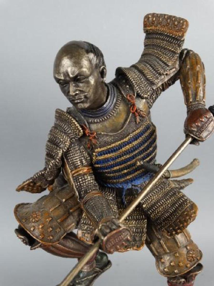 Pair of Highly Detailed Japanese Samurai Figures - 3