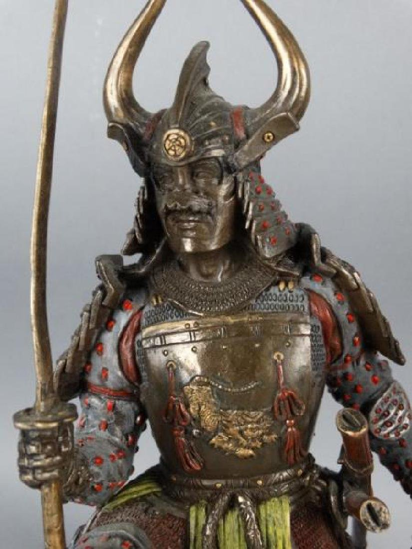 Pair of Highly Detailed Japanese Samurai Figures - 4