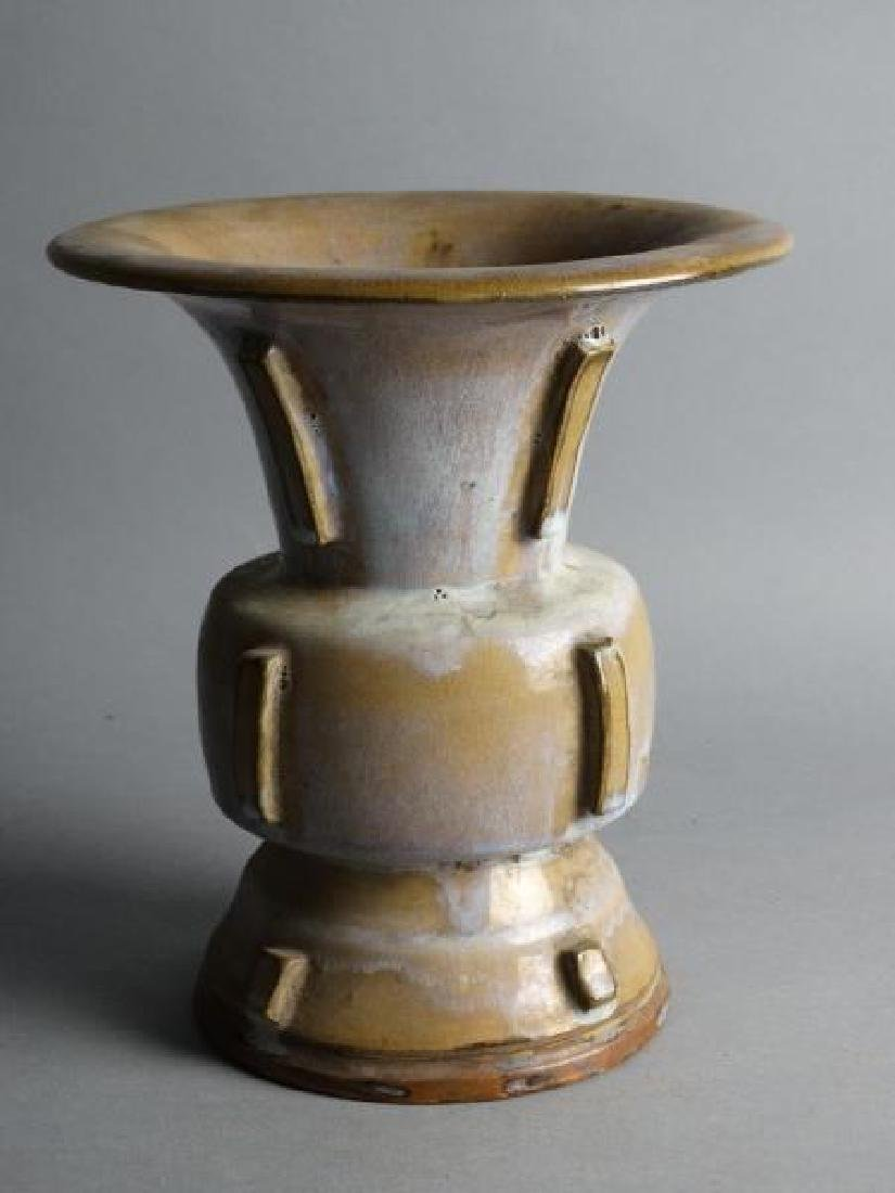Glazed Porcelain Vessel