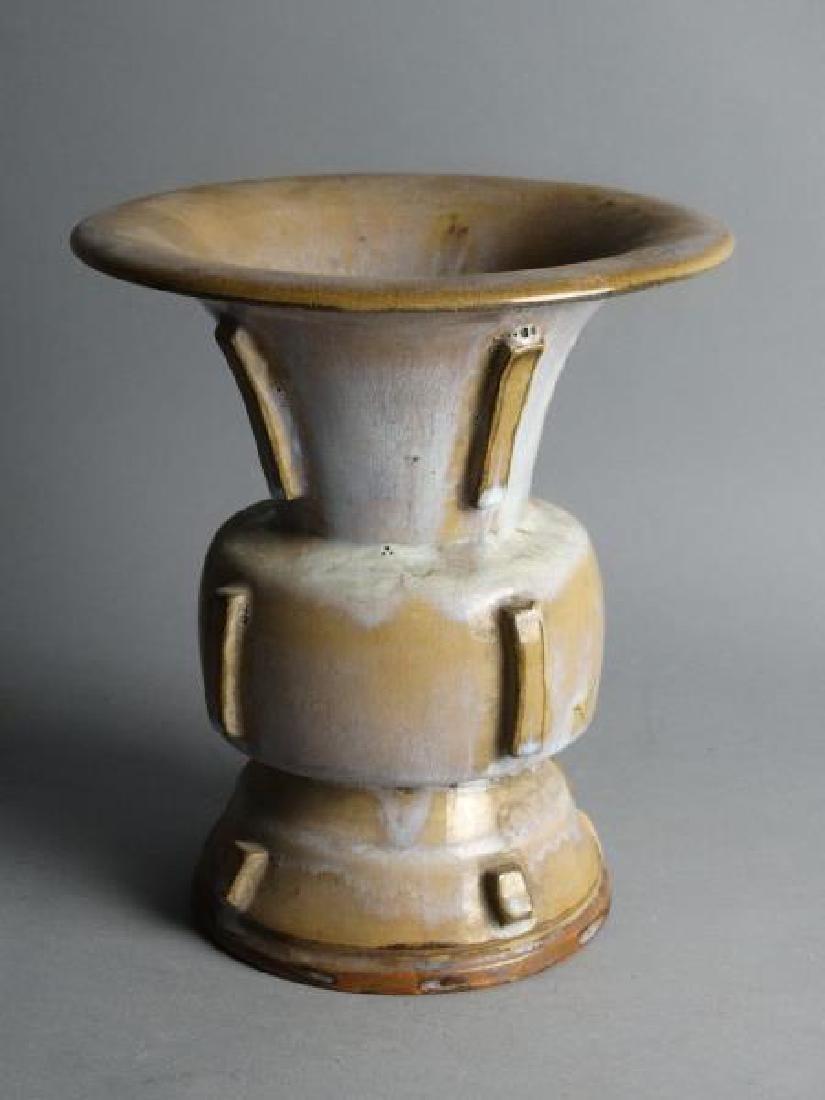 Glazed Porcelain Vessel - 2