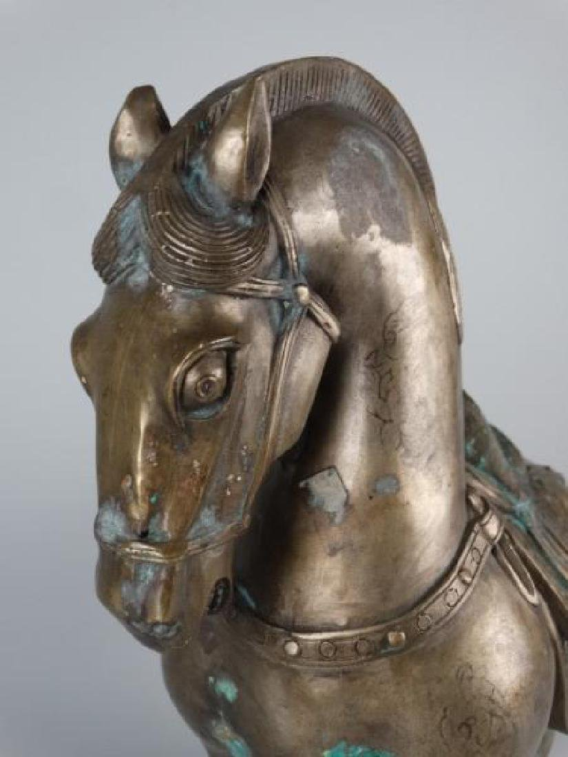 Chinese Metal Horse Sculpture - 3