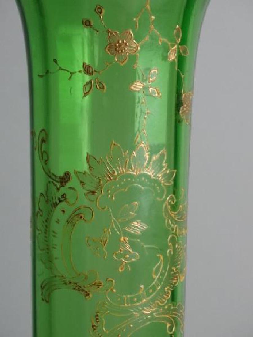 Large Moser Glass Vase - 6