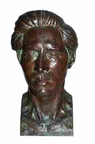 B. CAMPAIOLA - Bronze Bust