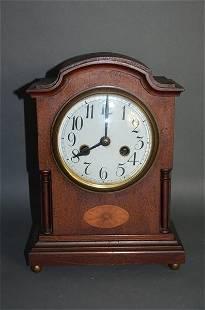 Antique Mantle Clock w/ Porcelain Face