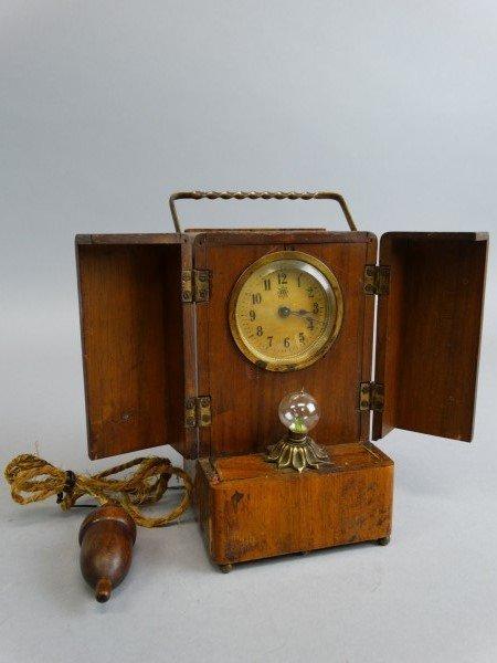 Edwardian Junghans Clock & Nightlight