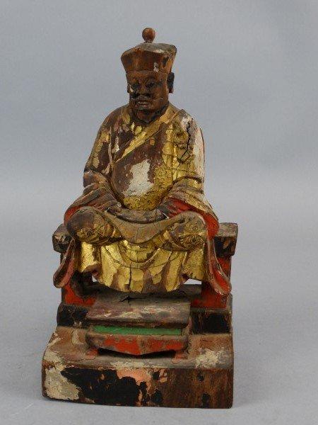 Antique Hand Carved Wooden Elder