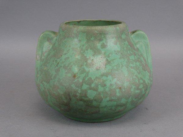1930's Mottle Glazed McCoy Vase