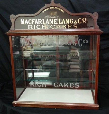 MacFarlane Lang & Co. Rich Cakes Counter Display