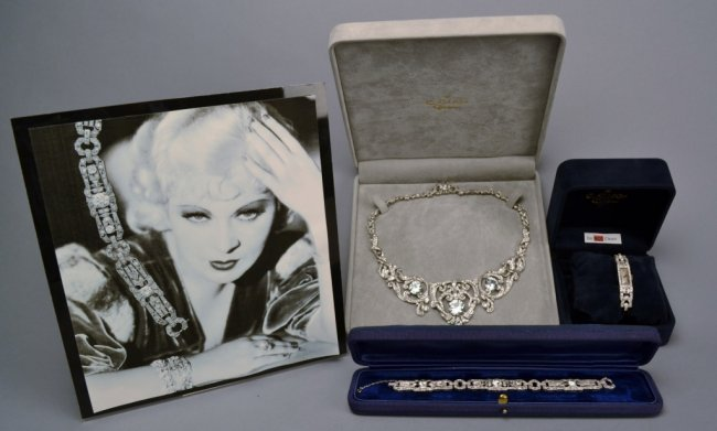 Mae West Estate Jewelry - Platinum & Diamonds