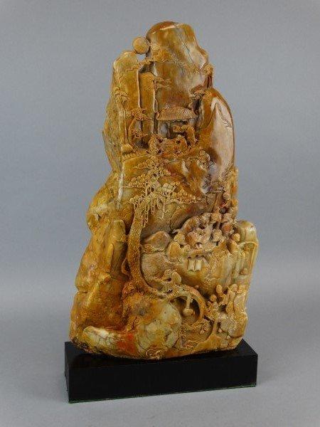 Shoushan Stone Carving w/ Base