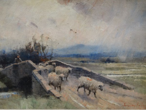 JAMSON LAING -  Oil On Canvas