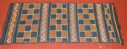 Antique American Indian Hand Woven Blanket