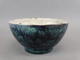 Studio Pottery Bowl Signed Rw