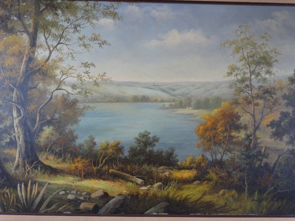 NEWTON RICHARDS - OIl on Canvas - Landscape