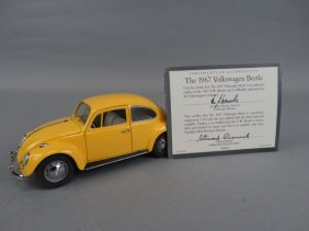 Franklin Mint 1967 Vw Bug Model
