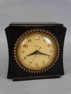Vintage Telechron Selector Alarm Clock